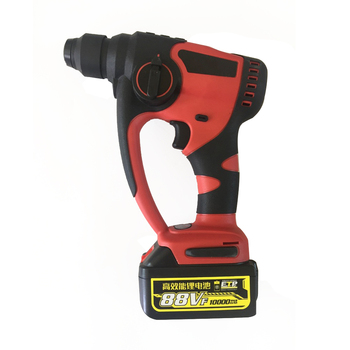 Electric Hammer Impact Drill Brushless Cordless 88VF 800w 10000mAh Rechargeable Lithium-Ion Hammer with 1 Battery Power Tools 5000 10000mah long duration hammer cordless drill rechargeable lithium battery multifunctional electric hammer impact drill