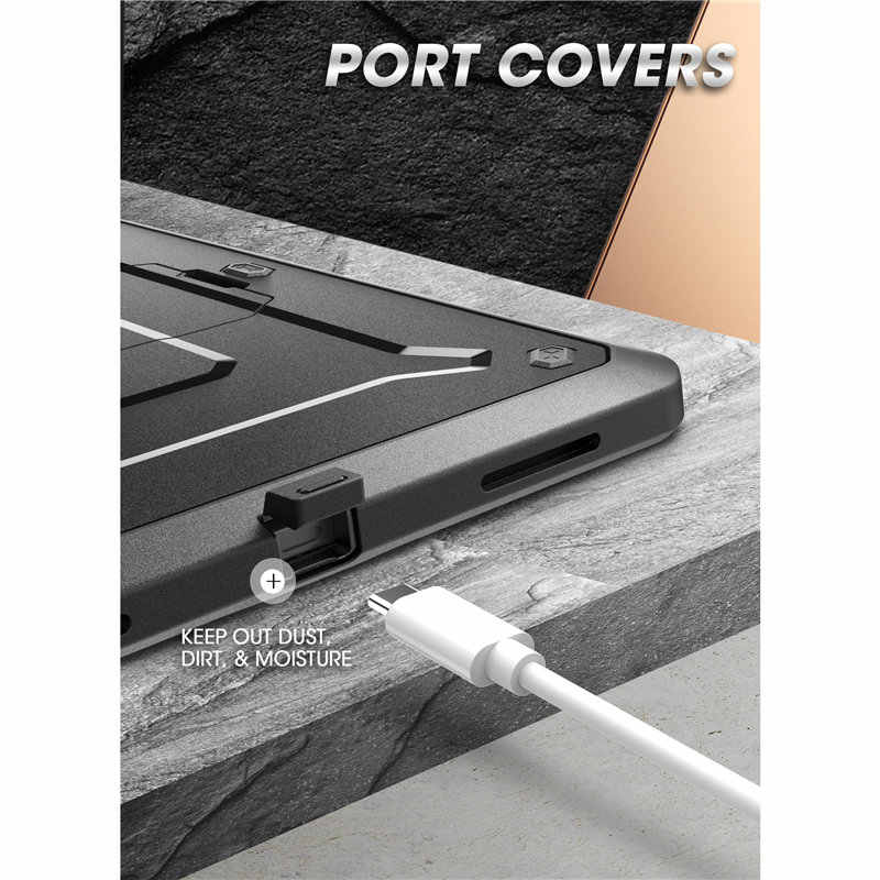 SUPCASE For iPad Pro 11 Case (2020) UB Pro Support Apple Pencil Charging with Built-in Screen Protector Full-Body Rugged Cover