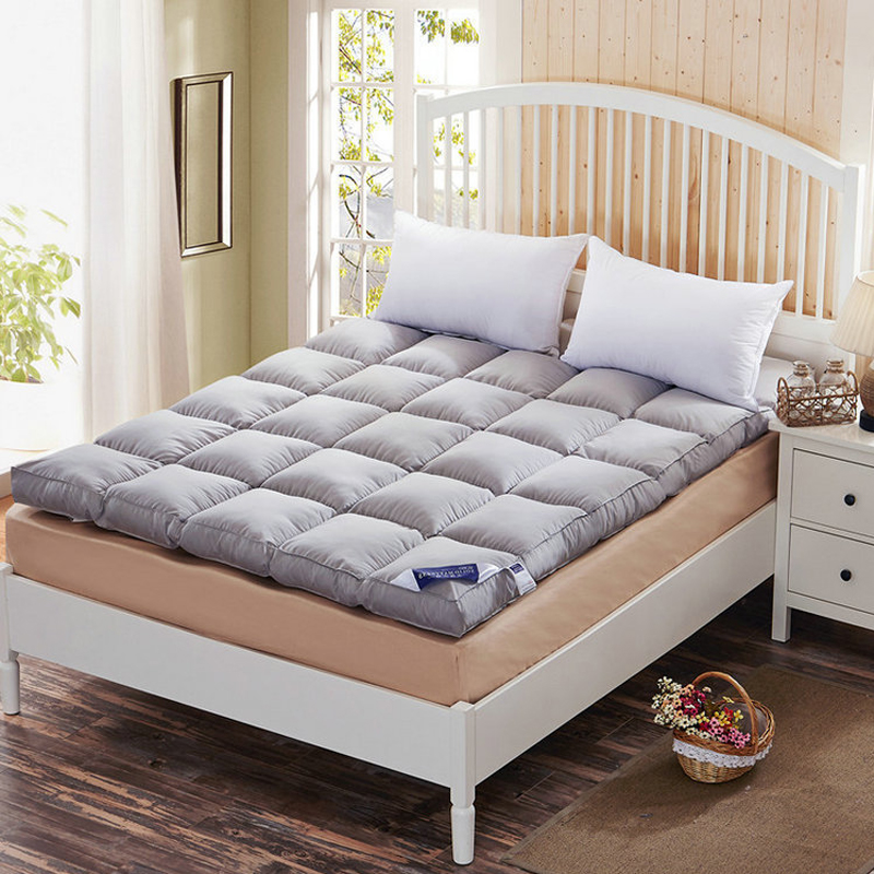 Feather down soft mattress portable mattress for daily use bedroom furniture mattress dormitory bedroom Tatami bed