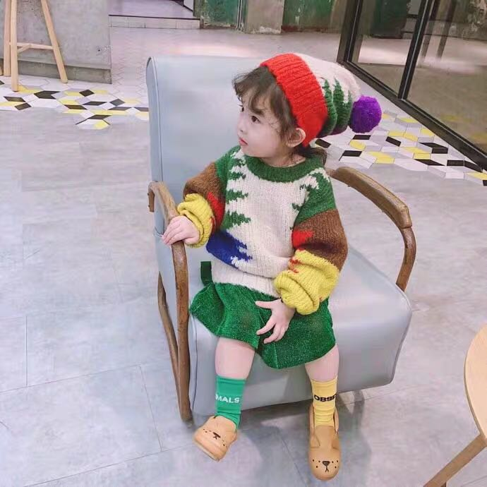Kids AB Socks TAO Brand 2021 New Baby Girls Knee High Long Soft Sock Cotton Candy Cotton Tube Socks Bebes Newborn Boys Children 6