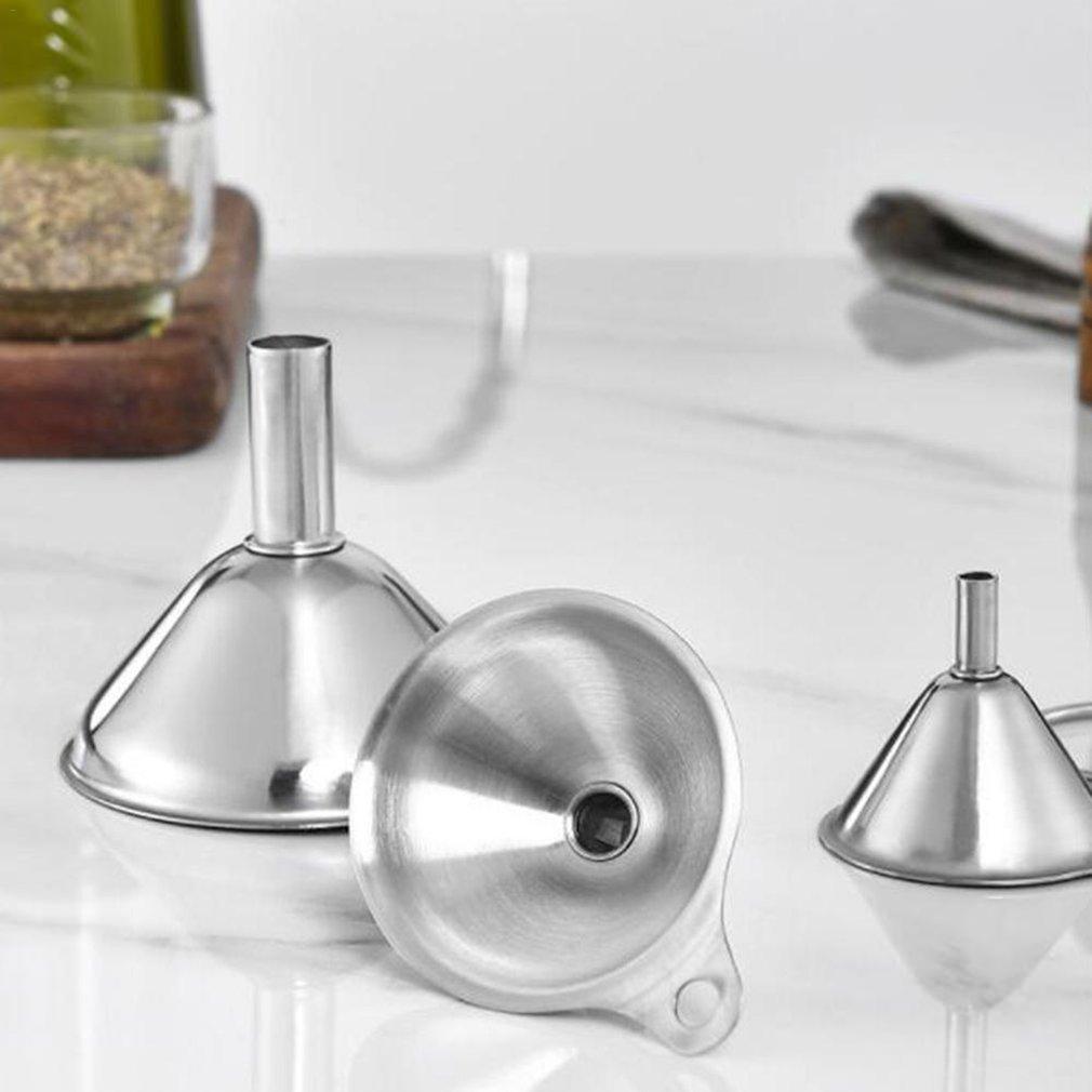 Комплект из 3 предметов, воронки для рта, фляжка для вина, воронка, Мини фляжка из нержавеющей стали для наполнения, фляга с узким горлом, бутылки