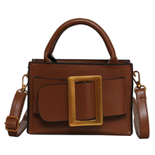 PU Leather Tote Bags 2019 Vintage Women Portable Shoulder Crossbody Famous Brand Handbag Luxury Clutch Evening Female Bag