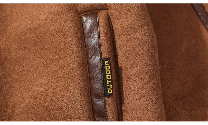 H54cbb7b19f4f463f8322b422c7e2b499A Men Autumn Casual Warm Fleece Military Leather Jackets Parkas Men Winter Windproof Waterproof Outwear Parka Coat Jackets Men