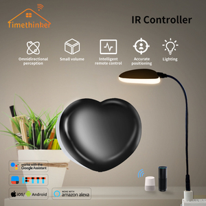 Image 4 - Tuya Smart Life IR Remote Control WiFi IR 2.4Ghz Infrared Illuminated Heart Timing Voice Control Compatible with Alexa Google As