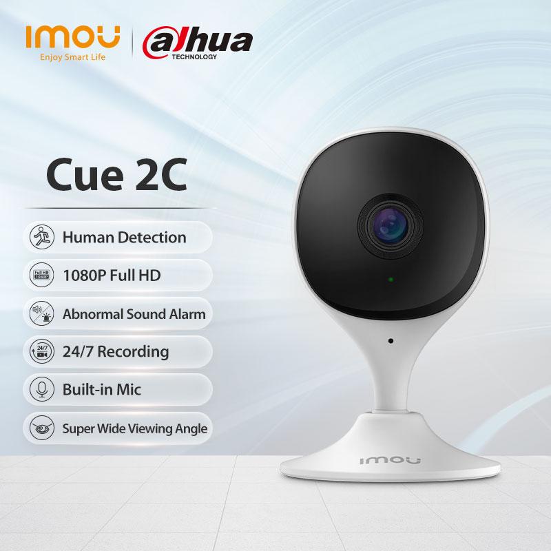 Dahua imou Cue 2C 1080P IP камера видеонаблюдения H.265 детекция людей встроенный микрофон ночное видение облако 1