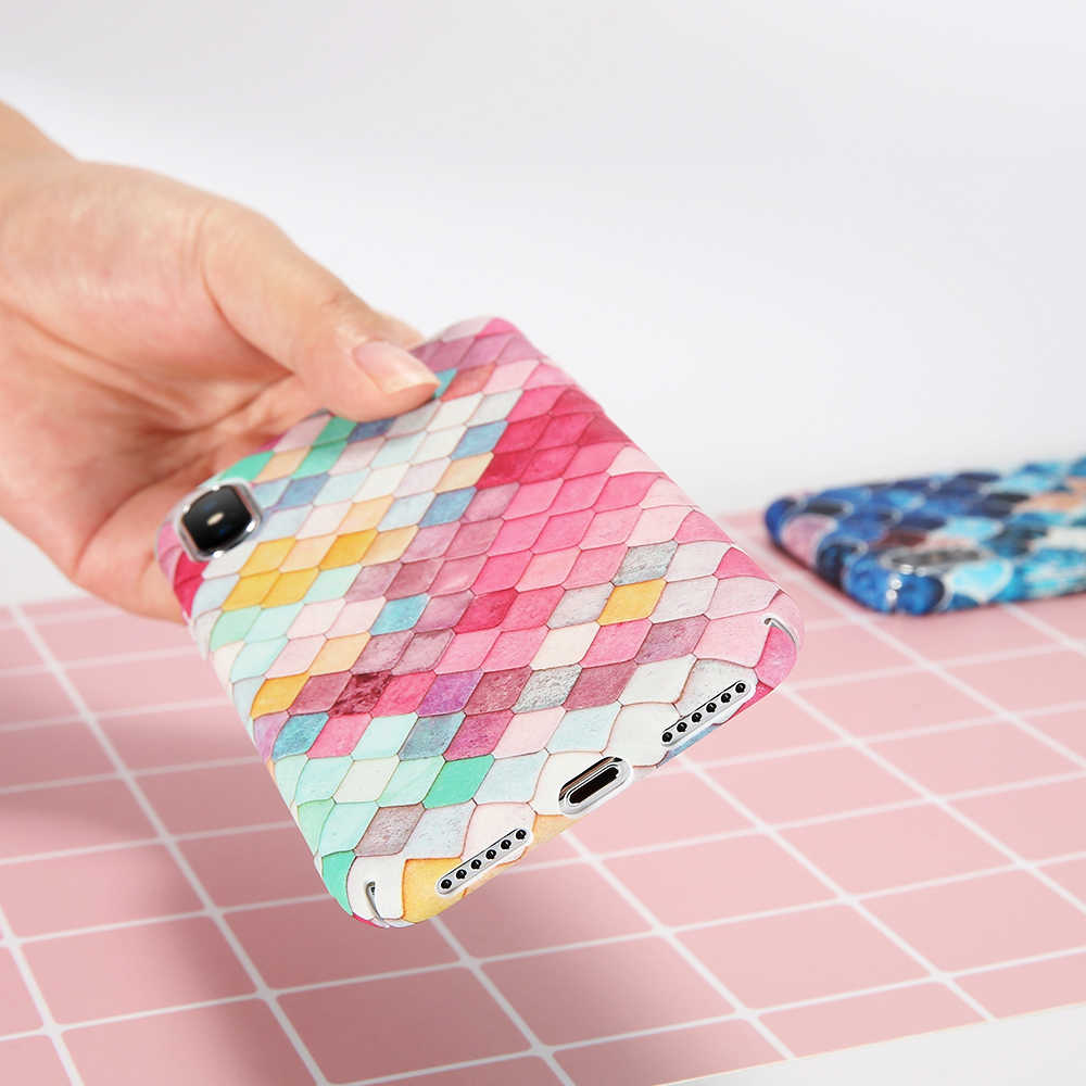 KISSCASE Original ปลาส่องสว่างสำหรับ iPhone 5S 5 6 7 6 Plus Case สำหรับ iPhone 8 PLUS 8 7 XS MAX XR XS X Capinhas