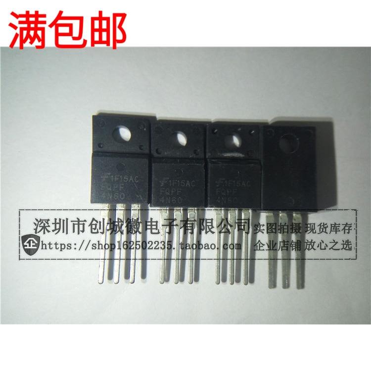 10 шт./лот 4N60 FQPF4N60C MOS N 2.6A/600V TO-220F