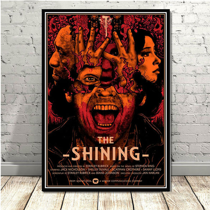 Z-478 The Shining Art Silk Poster Classic Horror Movie Custom