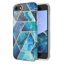 I BLASON pour iphone 7 8 étui pour iPhone SE 2020 étui Cosmo Lite élégant hybride Premium protection mince pare chocs marbre couverture arrière