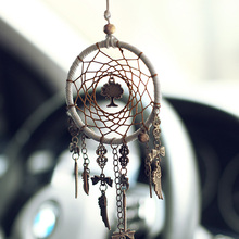 Dream Catcher Car Hanging Ornaments Pendants In Rearview Mirror Pendant Auto Accessories Retro Home Decoration Dreamcatcher