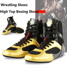 Shoes Fighting-Boots Boxing-Wrestling Professional Combat-Sneakers Rubber Men Breathable