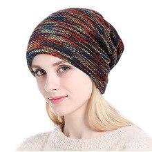 Jesień i zima kobiety Knitting czapka zimowa męska moda ciepłe wełniane czapki na zewnątrz oraz aksamitna ochrona słuchu czapki czapka z daszkiem kask narciarski