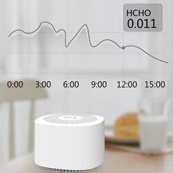 Detector de dióxido carbono co2 monitor de qualidade do ar formaldeído tvoc detector envenenamento energia interior formaldeído tester máquina