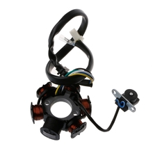 Motorcycle Ignition 6 Pole 5 Wires Coils Magneto Stator For GY6 125cc 150cc Scooter ATV