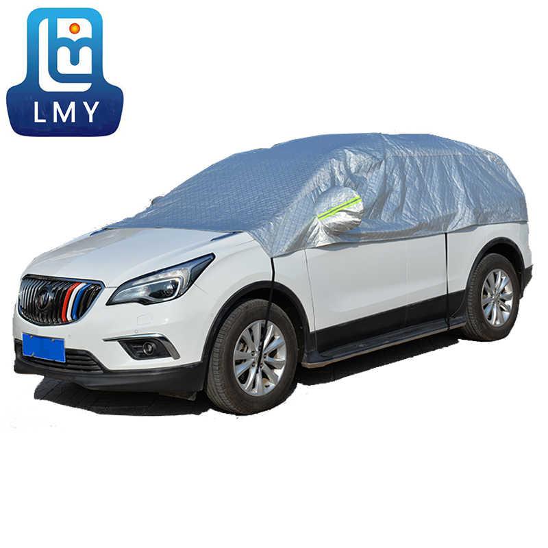 Evrensel araba gövde kapağı suv Sedan otomobil aksesuarları Polyester su geçirmez koruma araba kapakları