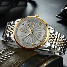 Men Mechanical Watch Top Brand olevs Luxury Business Watches