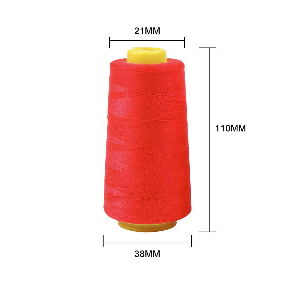 3000Yards-Middle-Yellow Polyester Embroidery Machine Thread Kit ...