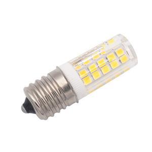 Image 3 - E17 LED لمبة إضاءة للميكروويف 6 واط التيار المتناوب 110/220 فولت 2835 SMD السيراميك يعادل 60 واط المتوهجة سيرامي الدافئة/الباردة الأبيض 10 حزمة