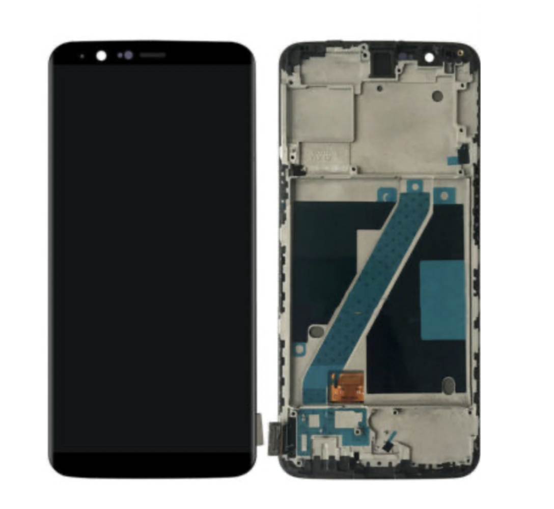100% Tested For Oneplus 5T A5010 LCD Display Touch Screen Digitizer Assembly With Frame