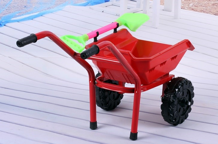Summer Beach Sand Toys For Kids Baby Kinetic Sand Bucket Mold Beach Cart Games Bucket Set Carretilla Juguete Gifts CC50BT