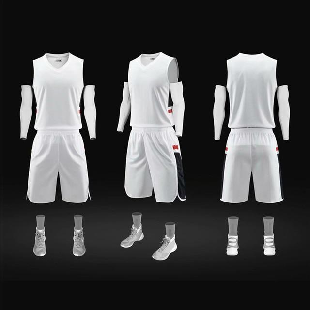 Maillot de basket-ball lOGO personnalisé équipe maillots personnalisés basket-ball match costume respirant sueur mèche maillot sport costume