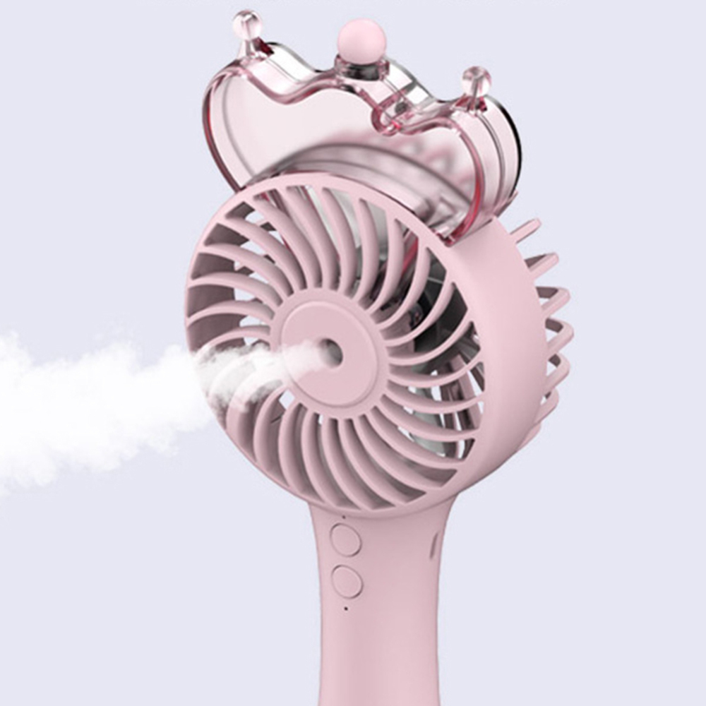 Handheld Water Spray Mist Fan USB Rechargeable Mini Cooling Fan Humidifier in Face Skin Care Tools from Beauty Health