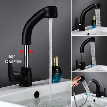 kitchen faucet Pull Out Pull Up swivel kitchen sink Faucet Mixer kitchen vanity faucet luxury water tap luxury gold kitchen faucet pull out