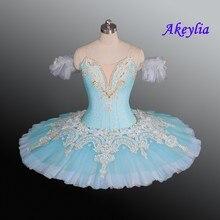 Barwa niebieska profesjonalna baletowa spódniczka Tutu s dla dorosłych Le Corsaire wydajność Tutu kostium Raymonda półmisek naleśnik baletowa spódniczka Tutu spódnica fioletowa