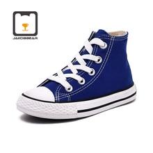 Tênis infantil cavans, sapatos para meninos e meninas, botas, branco, preto, laranja, rosa, verde, vermelho, azul