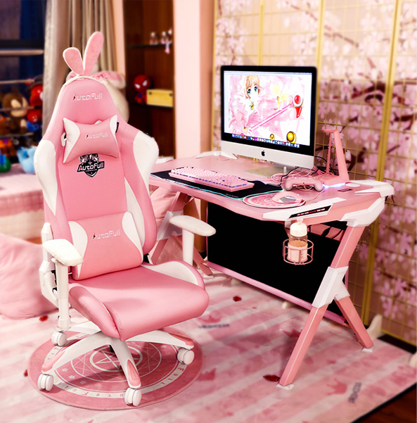 New Year's Gift For Lover Pink Girl Teenage Chair Armchair Computer Gaming Chair Chairs Office Chair Gaming Chair Gaming Chair Office Chair