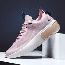 Zapatos informales De talla grande para Mujer, zapatillas gruesas con cojín De aire, calzado De lujo, moda, Scarpe, Donna