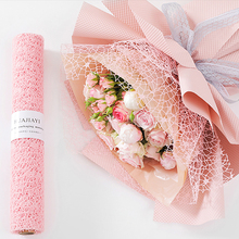 2,5 Ярд/рулон цветная упаковочная бумага для цветов подарочная упаковка для цветов жаккардовый материал