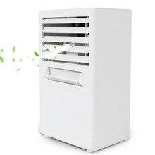 Мини портативный кондиционер Настольный маленький домашний офис вентилятор увлажнитель тихий персональный увлажняющий охладитель воздуха