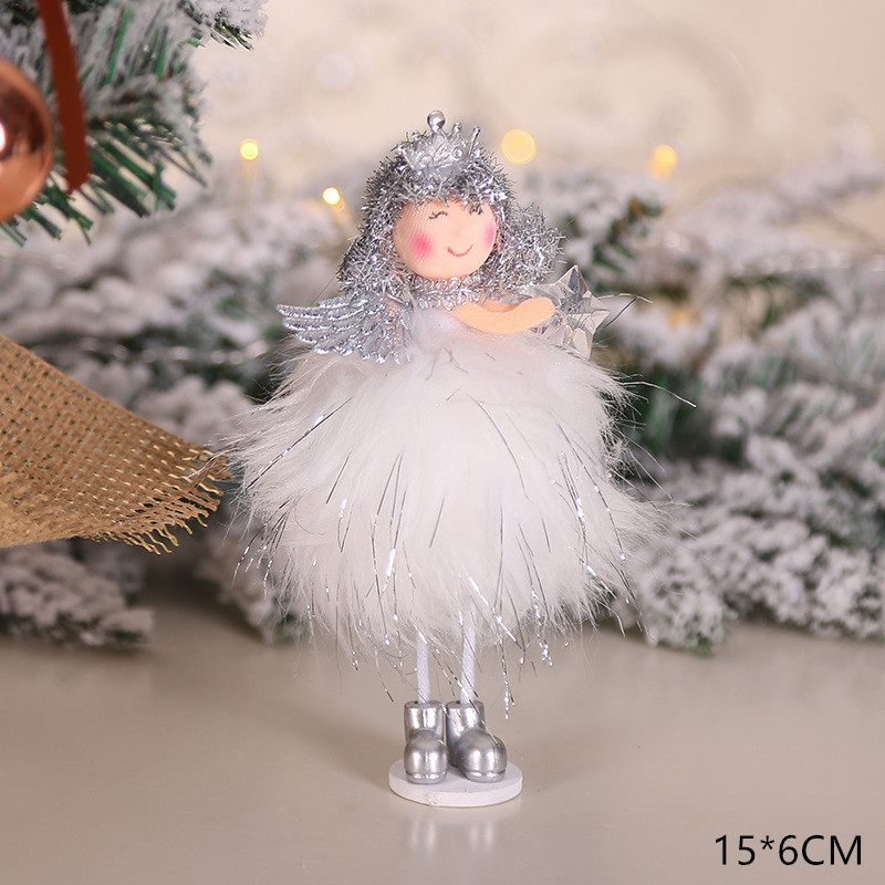 2020 New Year Gift Cute Christmas Angel Doll Xmas Tree Ornament Noel Deco Christmas Decoration for Home Natal Navidad 2019 Decor 48