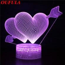 Ночники светодиодные новинка 3d лампа милая игрушка подарок