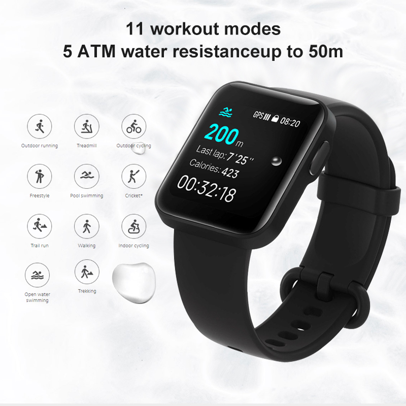 Xiaomi Mi Watch Lite Bluetooth Smart Watch GPS 5ATM Waterproofin Accra, Ghana 3