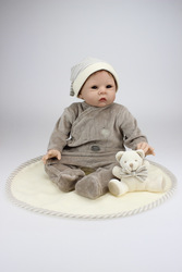 New Style Origional Reborn Baby Doll Exquisite Gift CHILDREN'S Toy Confinement Nurse Training Model Infant Props