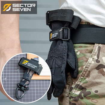 Multi-purpose Glove Hook Outdoor Carabiner Military Tactical Molle Gloves Climbing Rope Storage Buckle Keychain 1