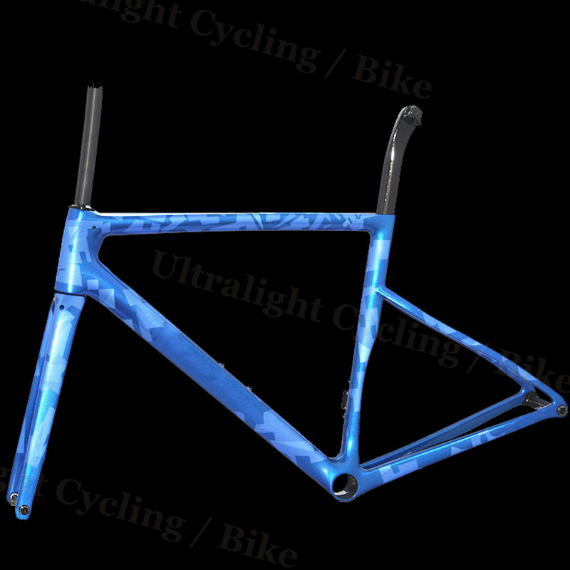 Bicycle Frame Carbon-Road-Frame BSA Racing BB30 Matte For DI2 Mechanical-Frame Customized