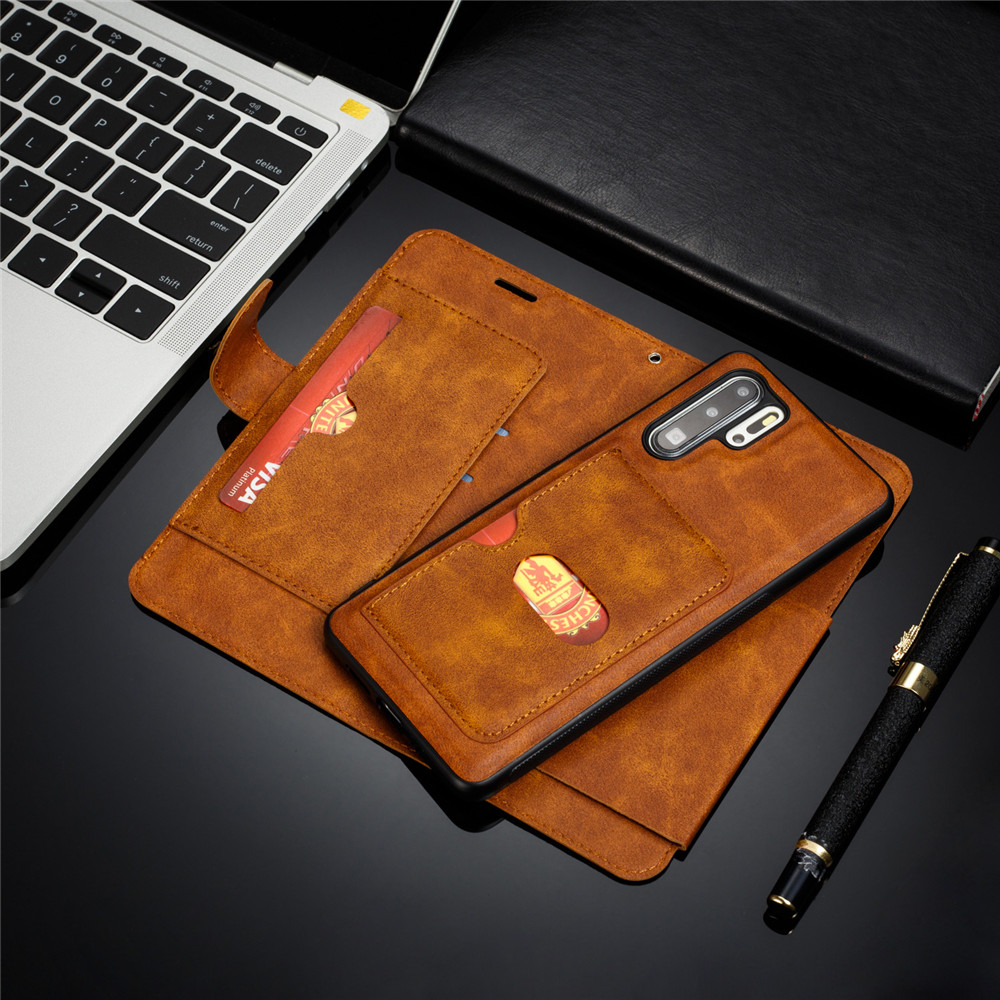 Huawei P20 Lite Case Retro PU Leather Case Huawei P20 Lite P8 P9 P10 P20 P30 Lite Pro Case Cover Detachable 2 in 1 Multi Card Wallet Phone cases11