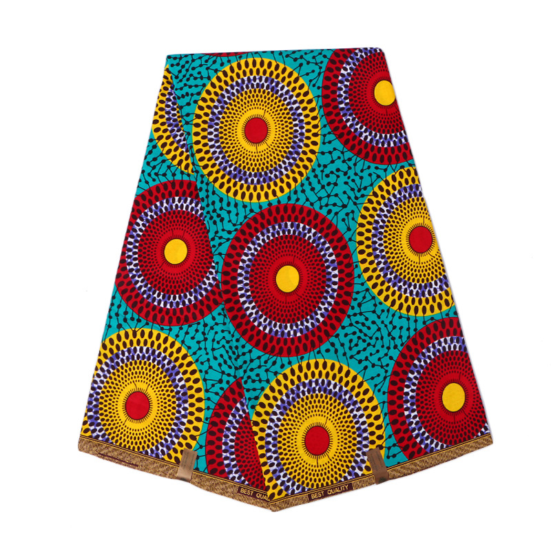2019 Hot Sale High Quality Kwanzaa Wax 2019 Dutch Wax African Nigeria Wax  Design For Women Dress