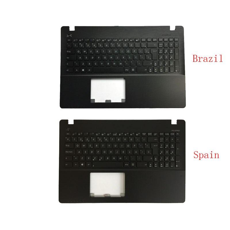 Бразильская/испанская клавиатура для ноутбука ASUS X552 X552C X552MJ X552E X552EA X552EP X552L X552LA X552CL клавиатура подставка для рук верхняя крышка