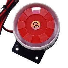 12 В DC Мини Проводная сирена для беспроводной дома офиса гостиной спальни сигнализации 120 дБ мини звук рога сигнализация