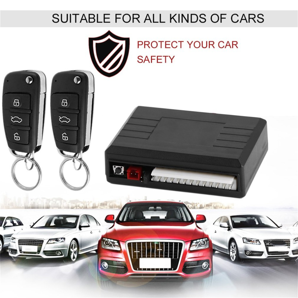Universal New Alarm Systems Car Styling Remote Central Kit Door Lock Locking Vehicle Keyless Entry System With Remote Controller