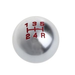 Image 2 - الألومنيوم جولة 5/6 رافعة سرعة اليدوي تحول مقبض الباب والعتاد M10x1.5 موضوع لهوندا/سيفيك/أوديسي/اتفاق