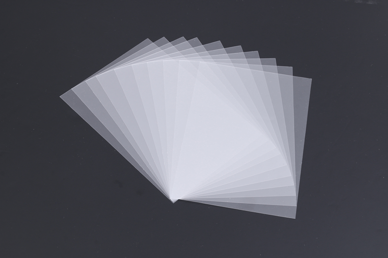 50pcs PVC Plastic Sheet for Scrapbooking DIY Handmade Shaker Cards Making Accessories Album Photo Frame New 2019 in Craft Paper from Home Garden