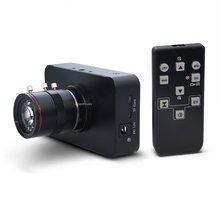 Câmera de 12mp hdmi 1080p usb hd video streaming ao vivo webcam gravação 4k @ 30fps indústria c/cs-montagem câmera com 6-12 lente