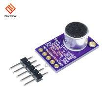 Плата микрофона max9814 модуль усилителя звука для динамика