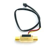 Hall-Effect Flowmeter Ultisensor Brass 1/4-Turbine Od-Plug USC-HS41TA BSP Water-0.5-3.5l/min