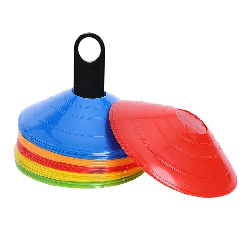 50Pcs/Lot 20Cm Football Training Pe Cones Marker Discs Football Training Sports Ufo Outdoor Football Sports Accessories